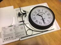 About Time - Paddington Outdoor Garden Clock - New (though minor manufacture issue)