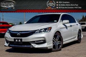 2017 Honda Accord Sport|Sunroof|Backup Cam|Bluetooth|Leather|Hea
