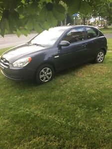 2009 Hyundai Accent 5 speed