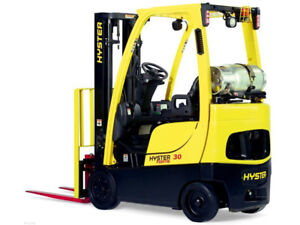 PROPANE FORKLIFT 2000 and 6000 lb.CAT,HYSTER,NISSAN and TOYOTA