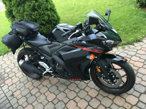 2015 Yamaha R3 with extended warranty until 2021