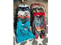 Big bundle of boys clothes 12-18 months