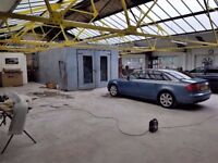 CAR BODY-SHOP RUNNING BUSINESS FOR SALE - LONG LEASE,STRONG CLIENT-BASE,QUALITY WORK,GOOD PRICE PAID
