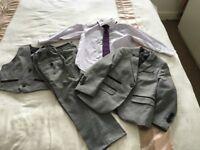 Boys 4 piece grey suit - 3 year old