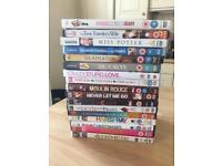 DVDs - individual prices (mostly £2, see in description) or sold as a set