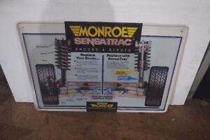 MONROE GARAGE SIGN