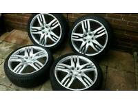 22 Inch Range Rover Overfinch Olympus Wheels and 285 35 22 tyres