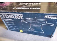 ERBAUER 8 INCH PLANER NEW IN BOX