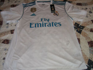Real Madrid 2017/18 Ronaldo Home Replica Jersey