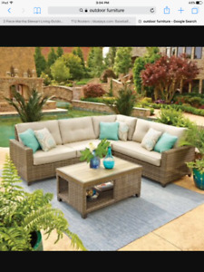 Wanted: Outdoor Funiture
