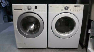 DUO LAVEUSE SECHEUSE FRONTALE SUPERPOSABLE LG WASHER DRYER