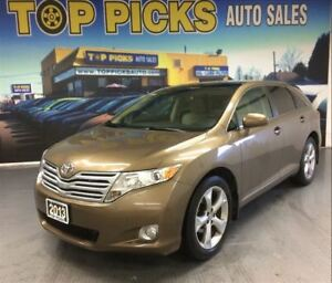 2009 Toyota Venza AWD, V6, 20 WHEELS, POWER GROUP, LOW MILEAGE!