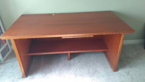 Large student desk and office chair - $25