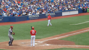TORONTO BLUE JAYS TICKETS-- FIRST BASE-- ALL GAMES