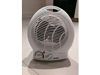 Small Texet Fan Heater HH-488N Perfect for Under Desk or Small Room