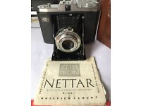 Zeiss Ikon Nettar Folding Camera