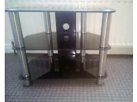 Tv stand Black / silver