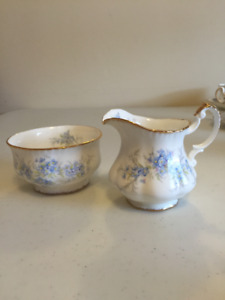 Creamer and Sugar Bowl