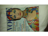 Vogue Magazines - Vintage 1970s and 1980s