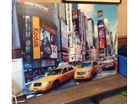 Large New York Times Square Image Canvas