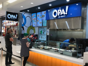 OPA OF GREECE - FOOD COURT OPPURTUNITY
