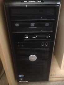 Intel duo quad core pc complete
