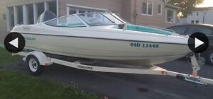Quick sale boat and trailer