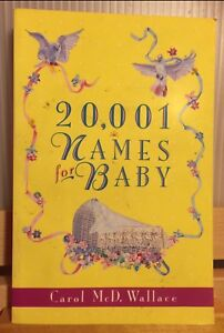 Baby Names reference book, 411 pages