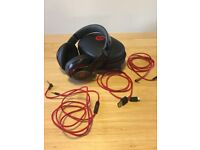 Genuine Beats by Dr. Dre Studio over-ear headphones - Black