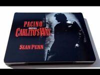 Carlito's Way and Casino Blu-ray Steelbooks