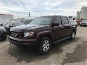 2007 Honda Ridgeline EX-L Leather, Sunroof 1 Year Warranty