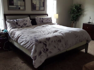 King bed frame from Costco