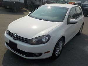2013 Volkswagen Golf 2.0L TDI Hatchback with Tech Package