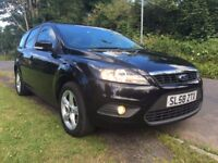 2008 58 PLATE FACELIFT IMMACULATE CONDITION FORD FOCUS ZETEC ESTATE, 1.8TDCI,MOT JULY 2018,FULL HIST