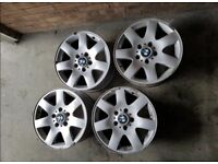 Bmw E46 16inch Standard Multispoke Alloys No Tyres