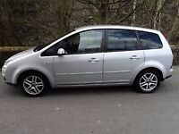FORD C-MAX 1.8 TDCi KKDA 2007 MACHINE SILVER DRIVERS DOOR **breaking for spares**