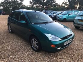 2000 Ford Focus 1.8 5 Months MOT Service History Cheap Car