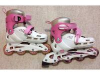 Inline Skates - SFR cyclone, pink, adjustable sizes 12J-2