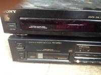 Sony tuner and pioneer cd changer