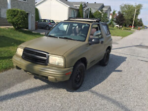 2001 Chevrolet Tracker VUS