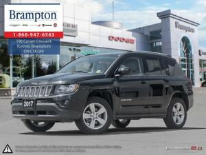 2017 Jeep Compass NORTH 4X4 | EX DEMO | LOW KMS | UCONNECT W/BLU