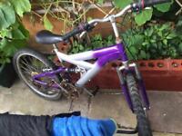 "24"" mountain bike GIRLS/BOYS"