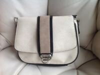 Beige and Black Wallis handbag