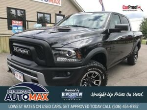 2016 Ram 1500 Rebel 4x4 CREW!  LOCAL TRADE! MINT!