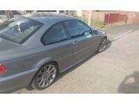 BMW e46 318ci m sport facelift