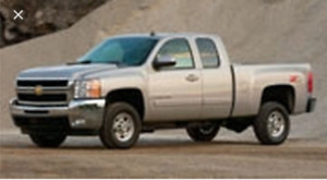 Looking for 3/4 ton truck.
