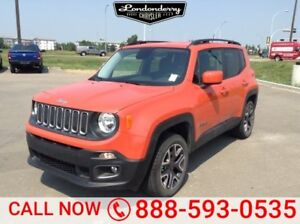 2016 Jeep Renegade 4WD NORTH Accident Free,  Heated Seats,