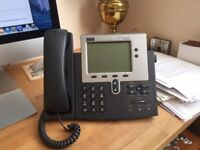 Cisco IP Phone 7940 Series with power supply