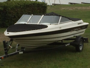 2007 Grew 174LE Bowrider Boat and Trailer