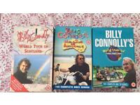 Billy Connolly world tour series on VHS